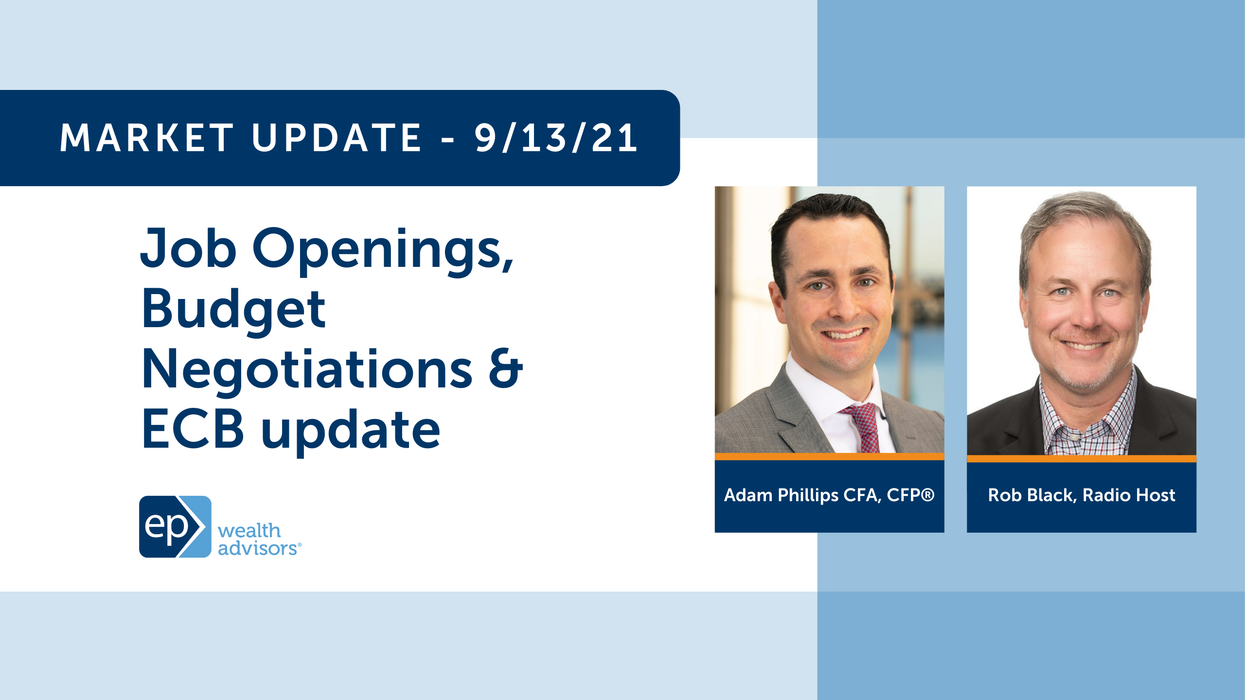 Job Openings, Budget Negotiations & ECB update